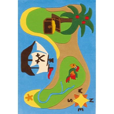 Pata Treasure Map Rug