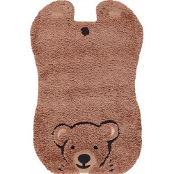 Pata Brown Teddy Rug