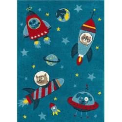 Kermao Children's Rocket Rug
