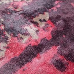 Zuta Vintage Patterned Rug - Red Pattern detail