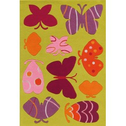 Hobyo Children's Butterfly Rug
