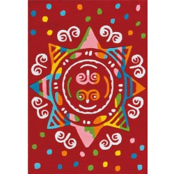 Hobyo Children's Mandala Rug