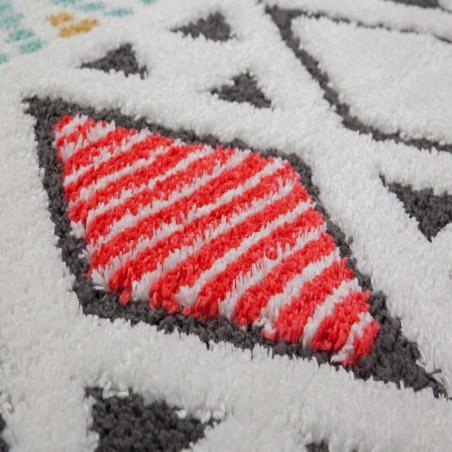 Liski Geometric Shape Rug Pattern Detail