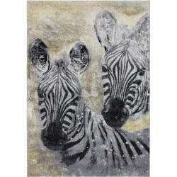 Hama Zebra Motif Rug