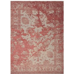 Marina Vintage Patterned Rug - Red