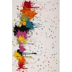 Huriel Paint Splash Rug