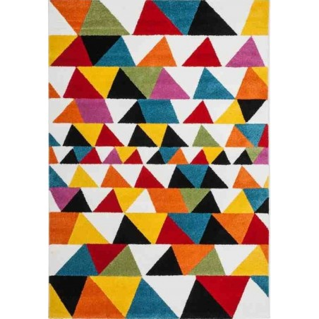 Huriel Triangular Patterned Rug