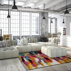 Huriel Artistic Rug Room Shot