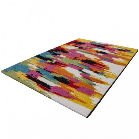 Huriel Artistic Rug Angled View