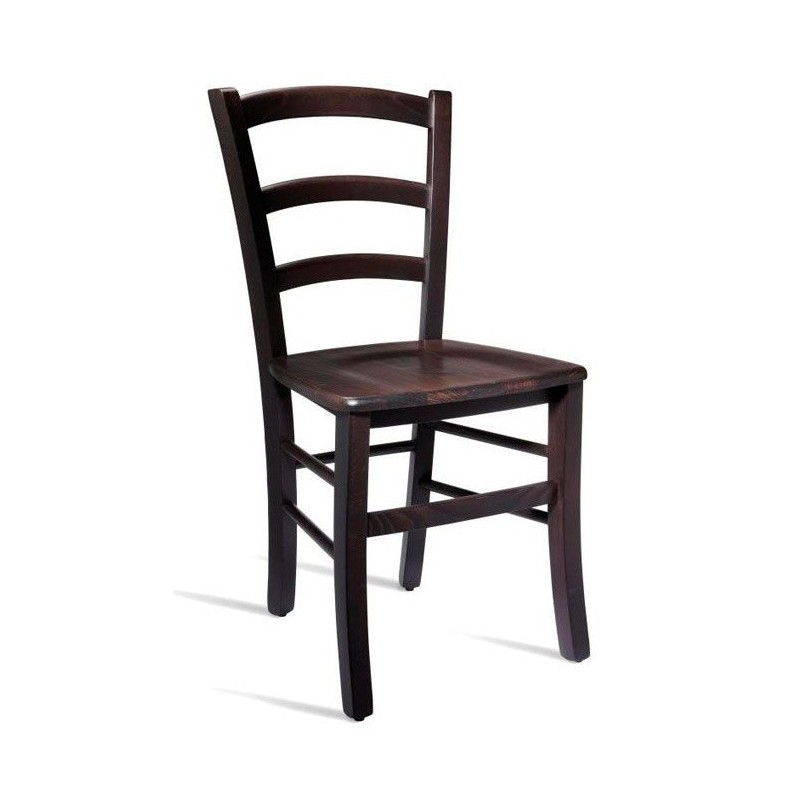 An image of Rovigo Wooden Dining Chair - Wenge