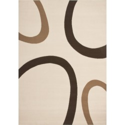 Bricy Stylish Rug - Ivory