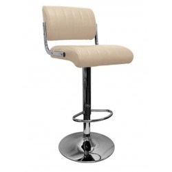 Siena Bar Stool, cream, front angled view