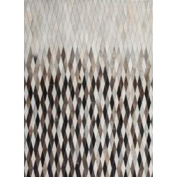Crema Diamond Patterned Rug