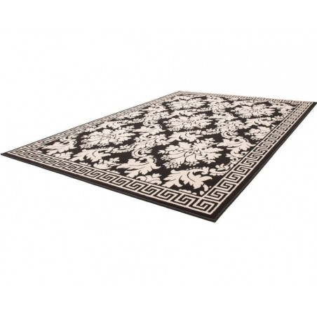 Reux Patterned Rug Angled View