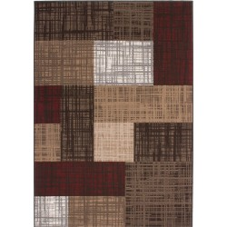 Reux Checker-board Patterned Rug
