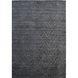 Pavia Patterned Rug - Grey