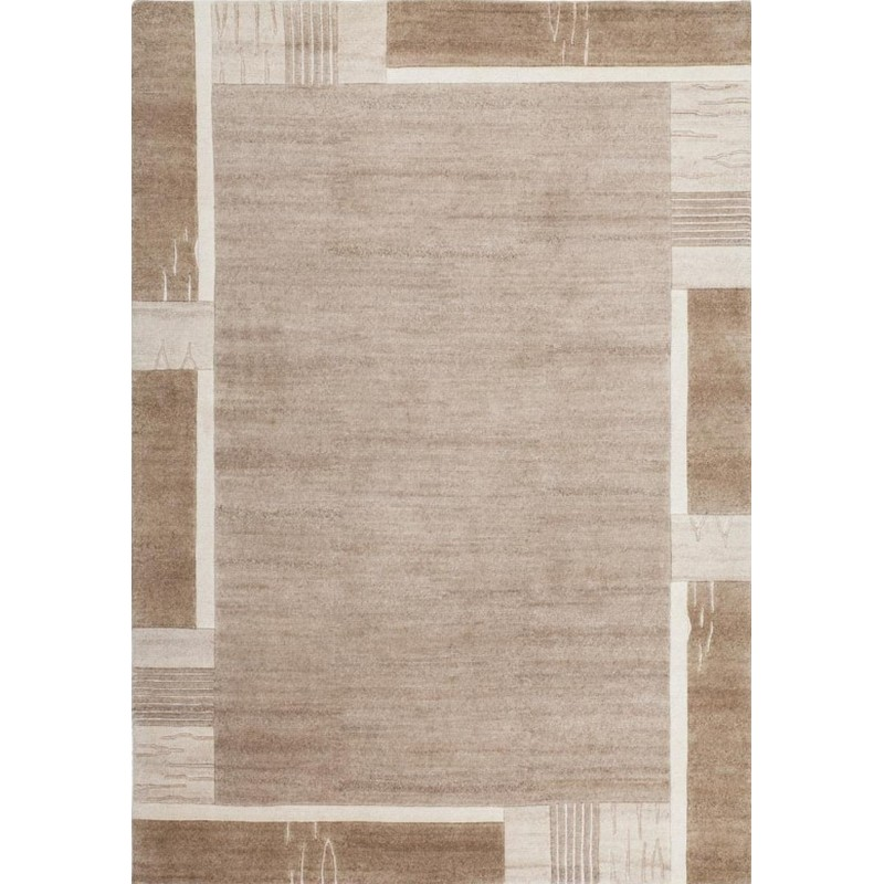 Paro Patterned Rug - Beige