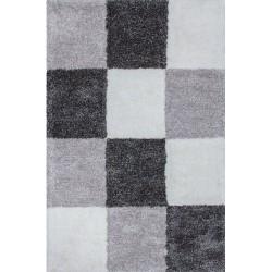 Arras Checker-ed Rug - Grey