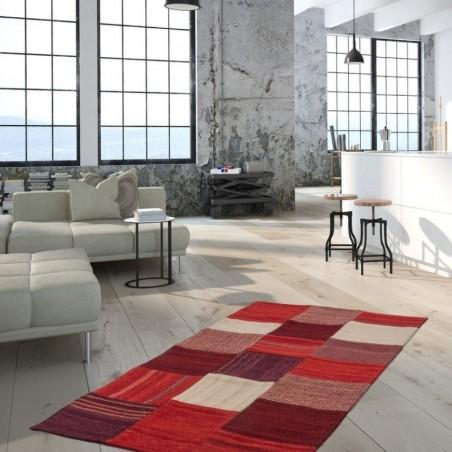 Capua Fabric Rug - Room Shot