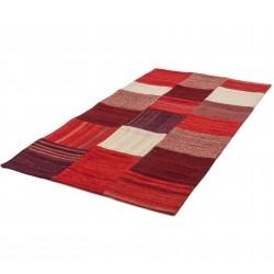 Capua Fabric Rug Angled View
