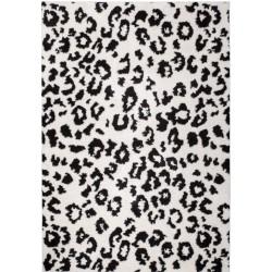 Onano Leopard Patterned Rug - White