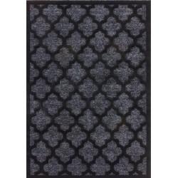 Rotal Short Pile Rug - Black