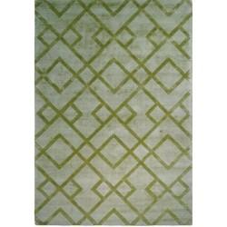 Petraro Patterned Rug - Green