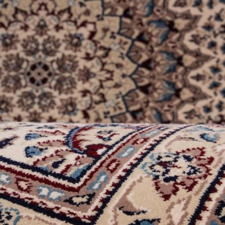 Culan Persian Rug - Cream Pattern detail