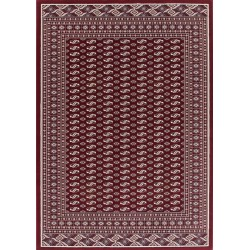 Culan Bordered Rug - Red
