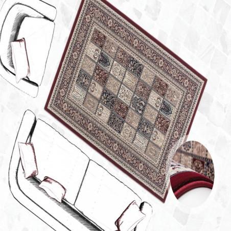 Culan Persian Patterned Rug - Red Mood Shot