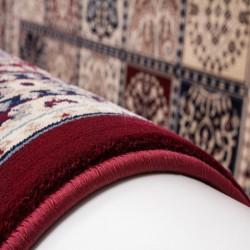Culan Persian Patterned Rug - Red Edge Detail