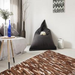 Trieste Patterned Rug - Beige Room Shot