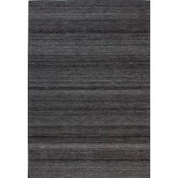 Malo Striped Rug - Black