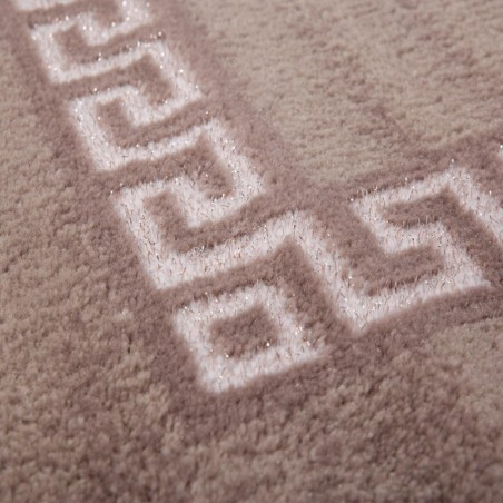 Sero Bordered Rug - Beige Pattern Detail