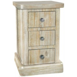 Bradford Solid Light Wood 3 Drawer Chest of Drawers