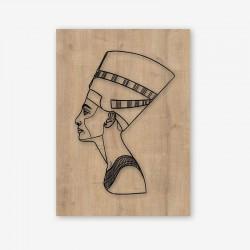 Pharaoh Wooden Frame Close