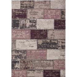 Ordos Tiled Rug - Purple