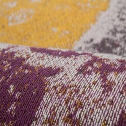 Glina Patchwork Rug Pattern Detail