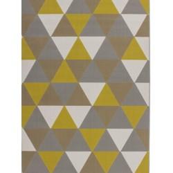 Ankara Triangular Rug - Gold
