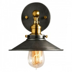 Factory Style Sconce Wall Light