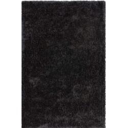Trabzon Shaggy Rug - Black