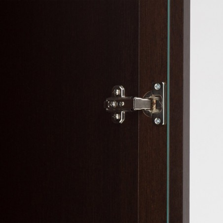 Quillan 3 Door Sideboard (Glazed Centre), hinge detail 2
