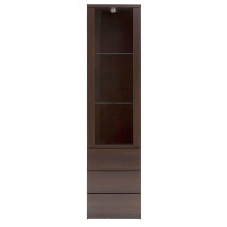 Quillan Glazed Display Cabinet, front view 1