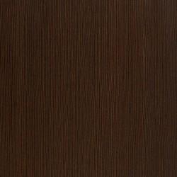 Quillan Tall Narrow Bookcase, mahogany colour detail