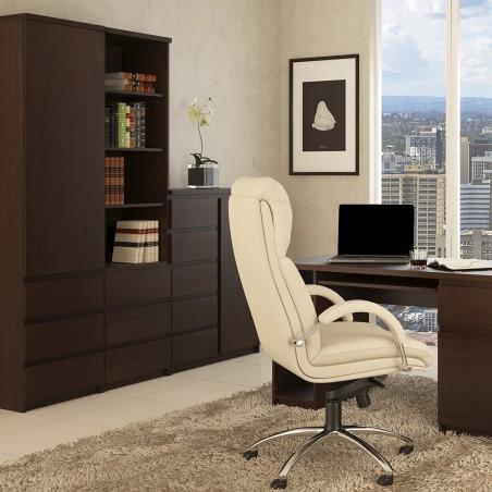 Quillan 1 Door 5 Drawer Cabinet, room shot 3