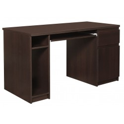 Quillan Twin Pedestal Desk, angle view