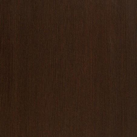 Quillan 2 Door Wardrobe, mahogany colour detail