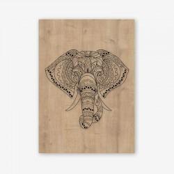 Elefante Wooden Frame Close
