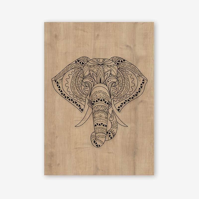 An image of Elefante Wooden Frame