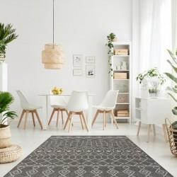 Zinder Geometric Rug - Beige Room Shot